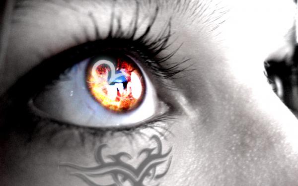 Глаза татуаж