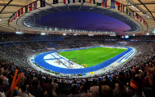 картинки стадионов легкой атлетики
