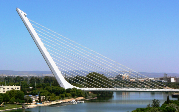 Мост аламильо в испании