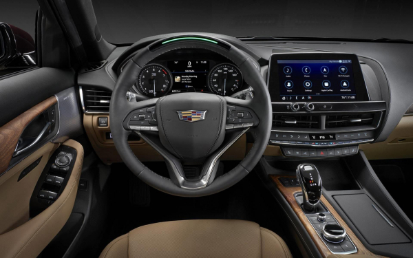 2019 Cadillac CT5 interior