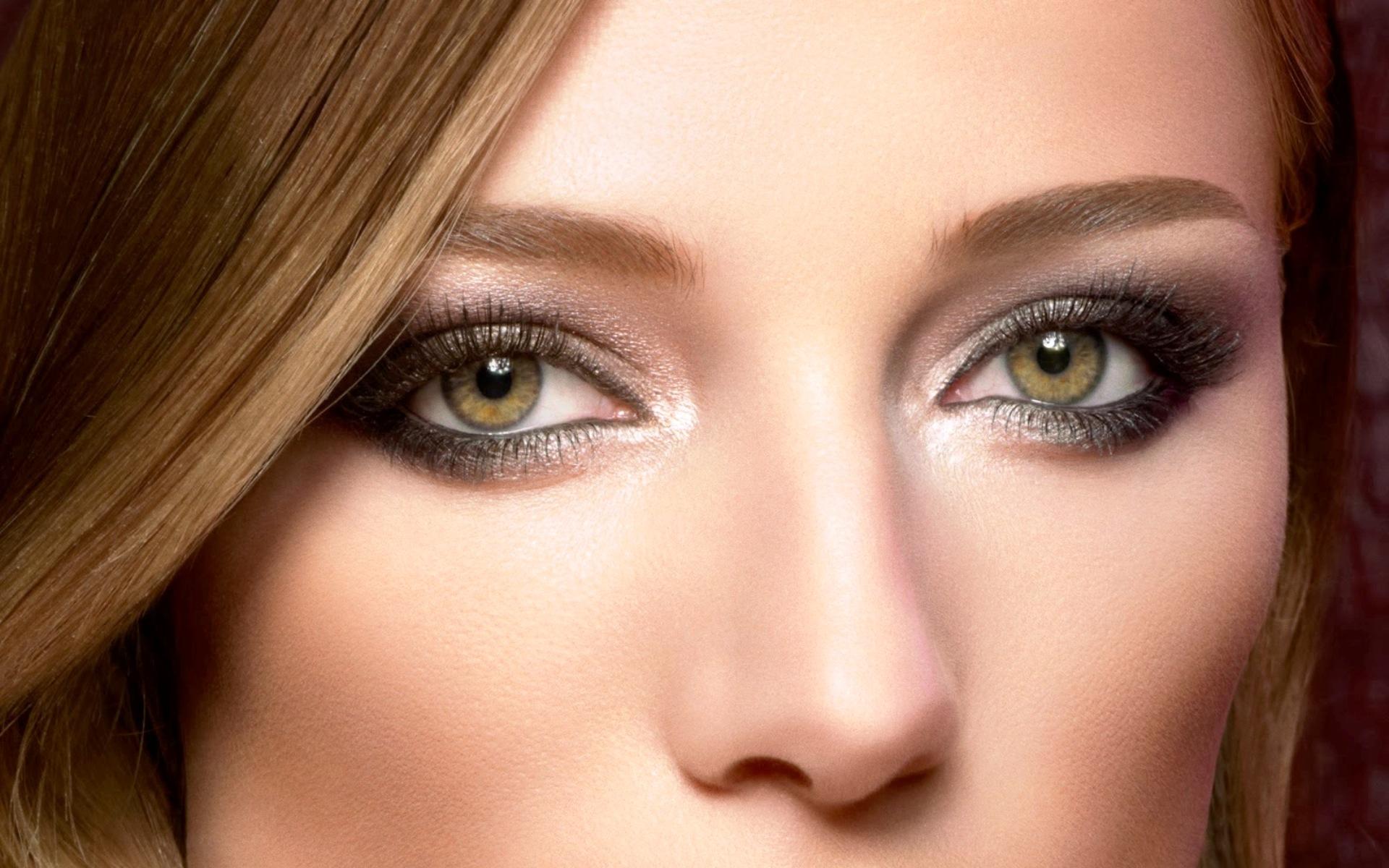 Макияж для цветотипа лето с серо-зелеными глазами