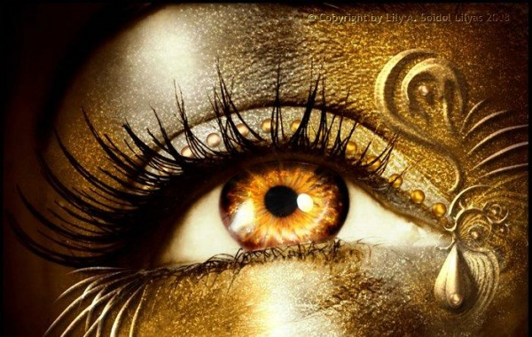 Картинка нарисованные глаза глаза