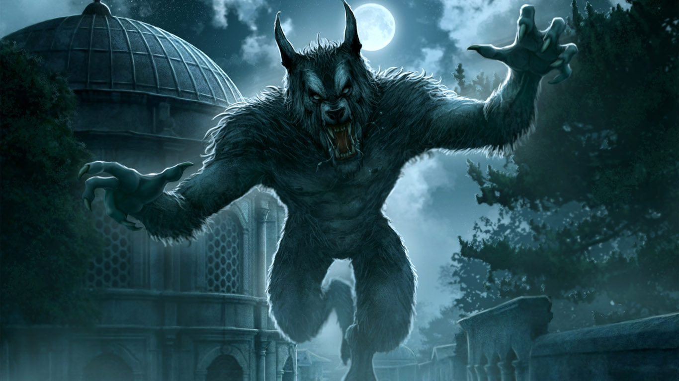 фото оборотней волков
