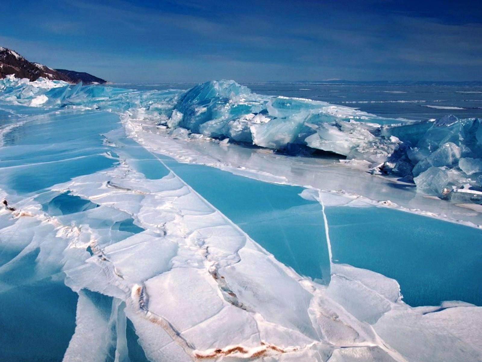 озеро байкал фото зимой
