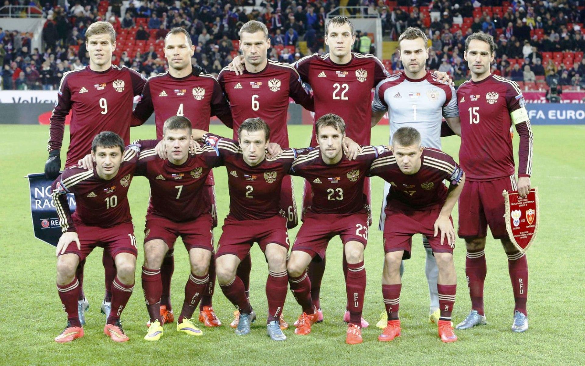Стал известен стартовый состав сборной России на матч с Францией