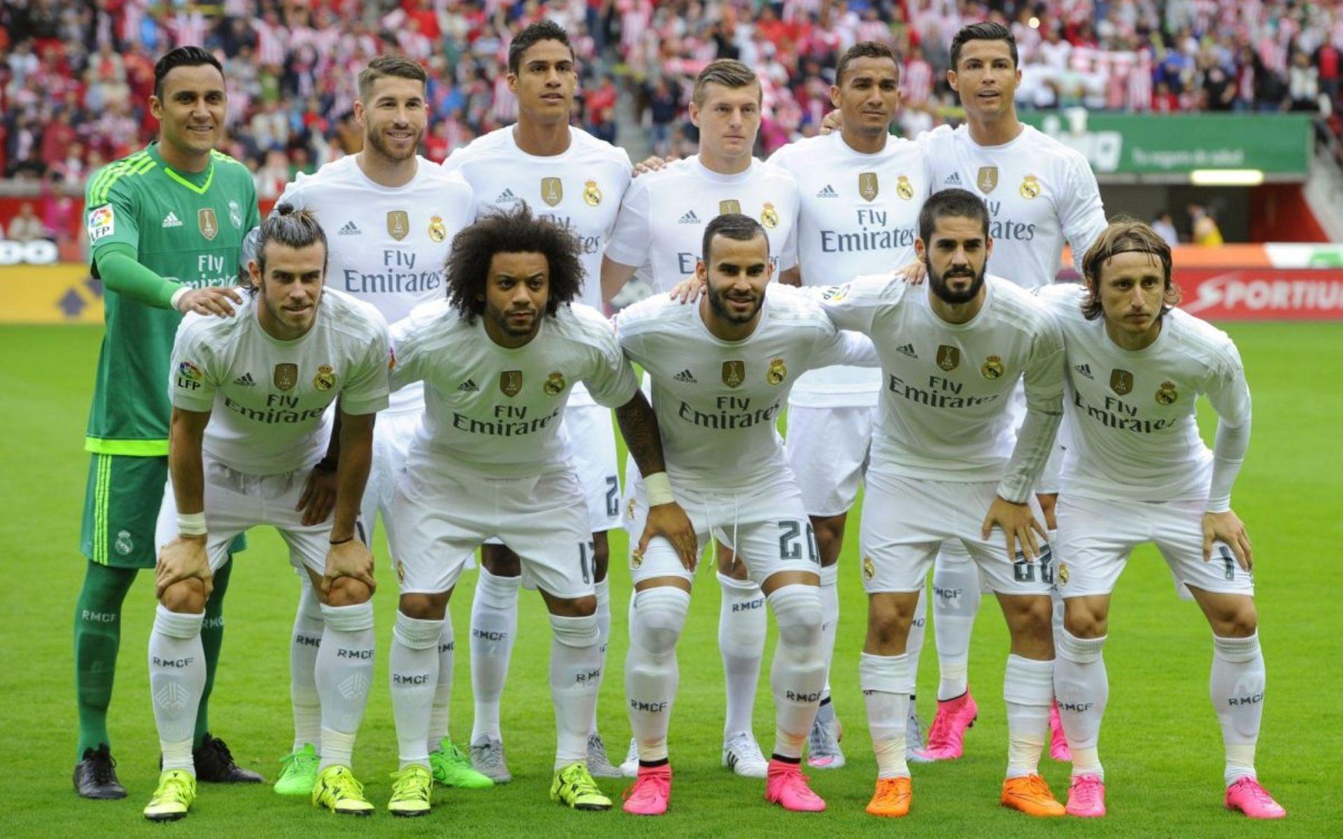 Фото про футбол реал мадрид