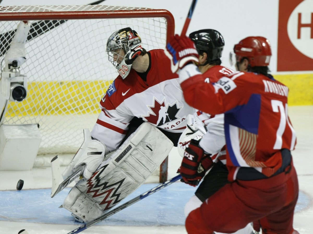 Хоккей россия канада 2008 5 фотография