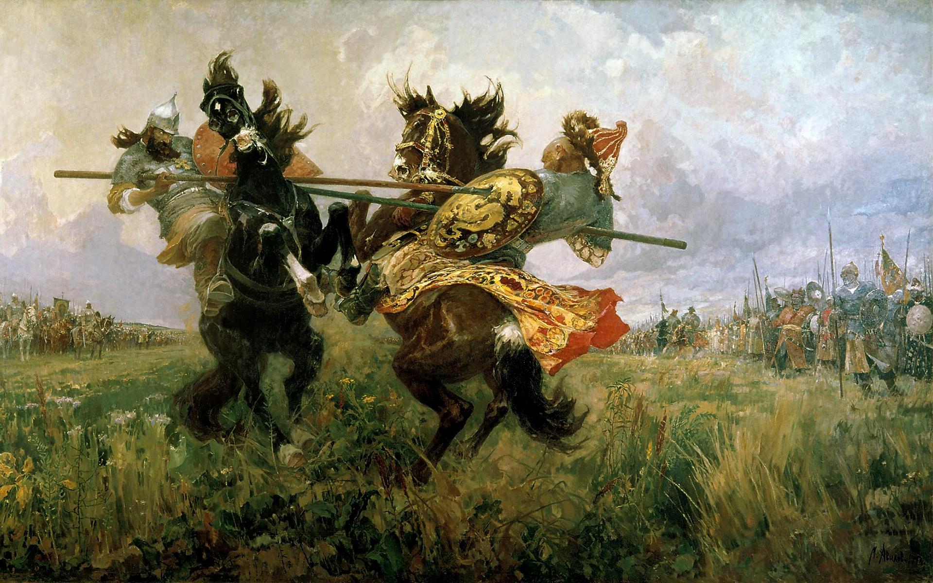 На поле куликовом - 9a