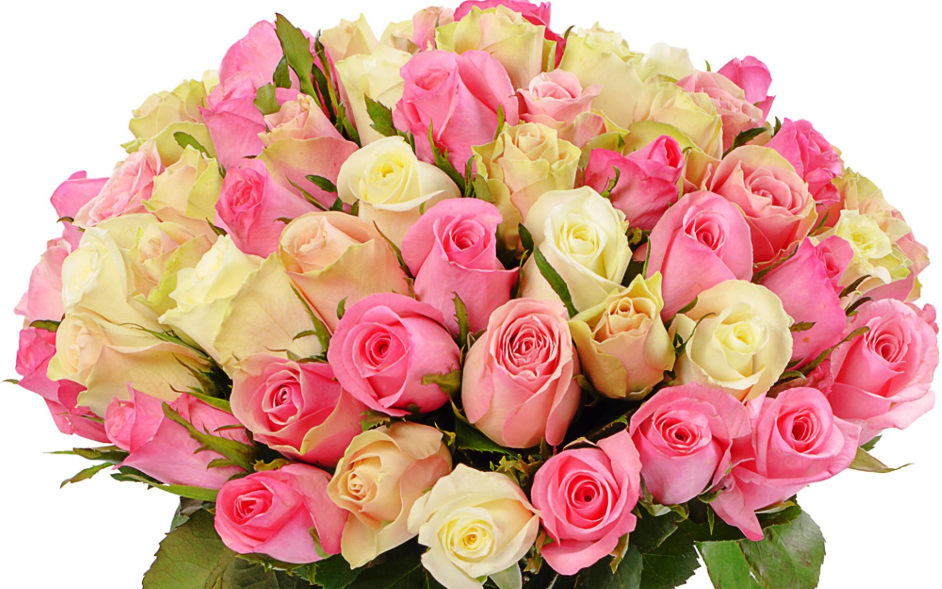 Фото очень большого букета цветов