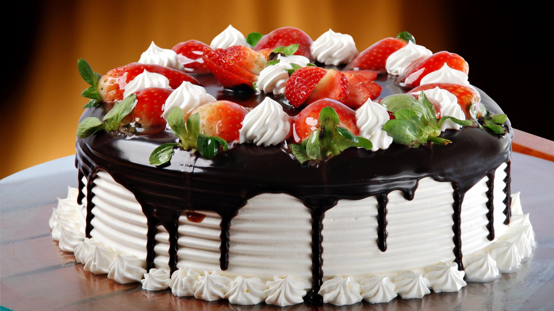 Обои на рабочий стол торты свадебные