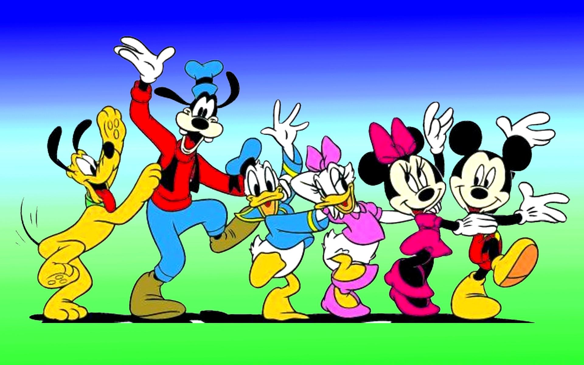 картинки микки маус и его друзья
