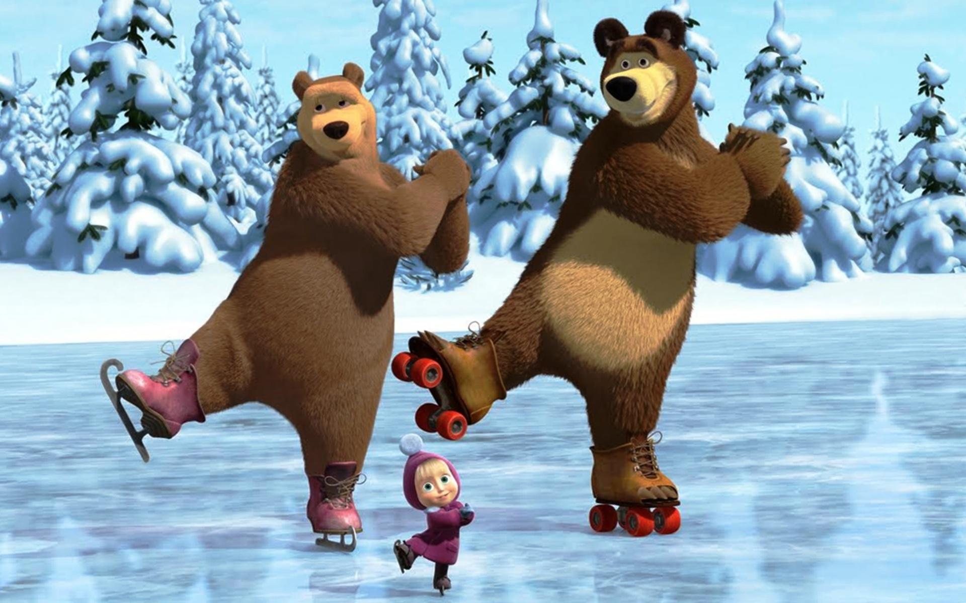 скачать маша и медведь игру прятки