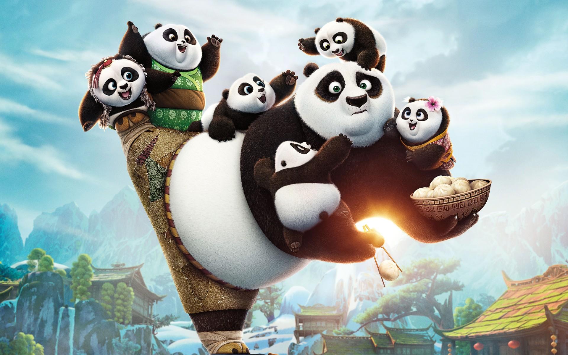 Кино скачать кунфу панда 3.