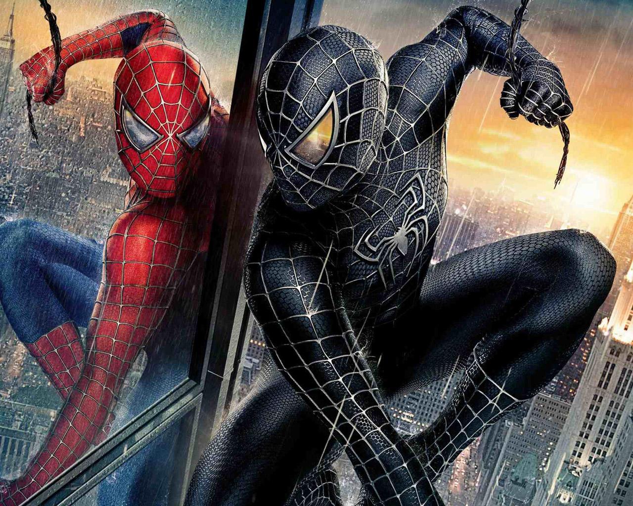 Человек паук картинка скачать 9