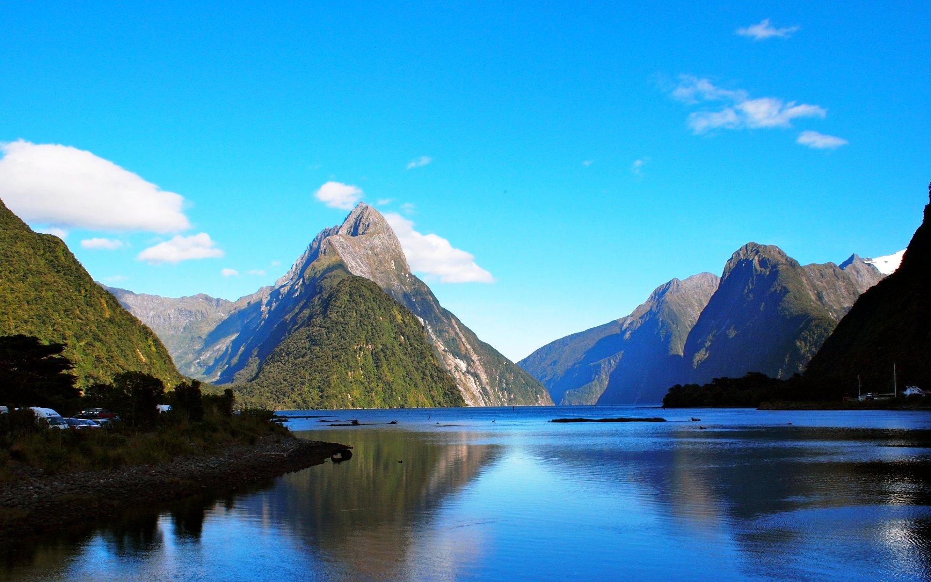 Расстрел в Новой Зеландии Pinterest: Картинка Фьорд в Новой Зеландии » Природа » Картинки 24