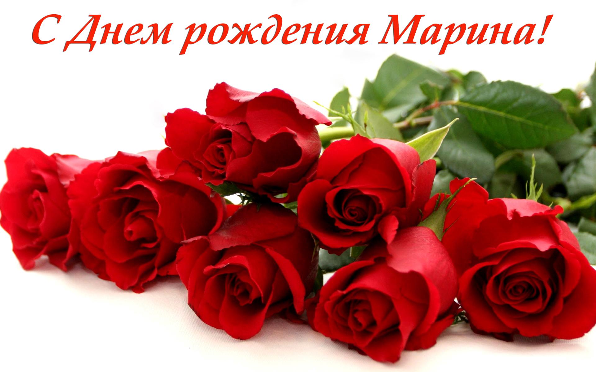 С днем рождения марина - Поздравительные Открытки с Днем 40