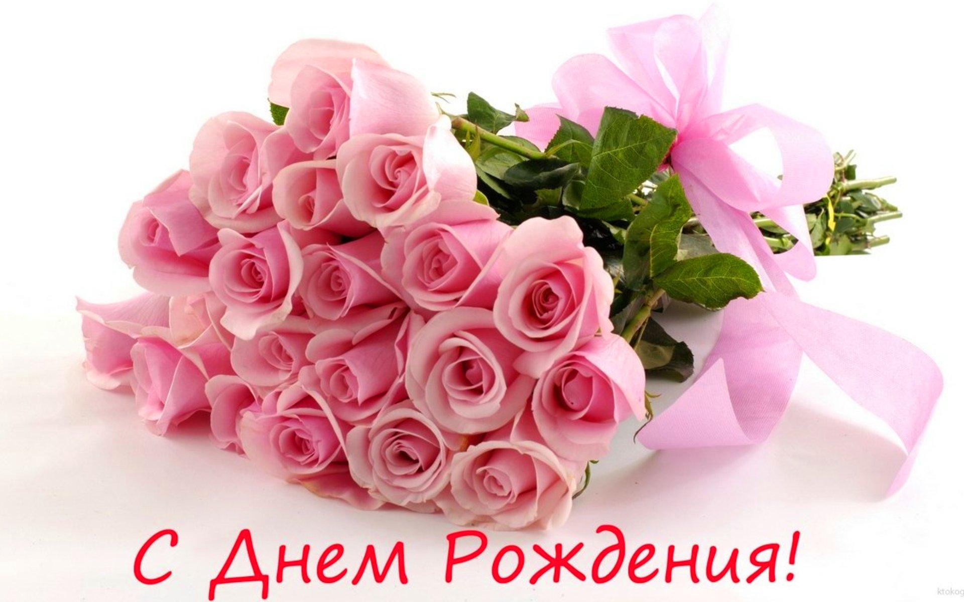 фото розы в день рождения