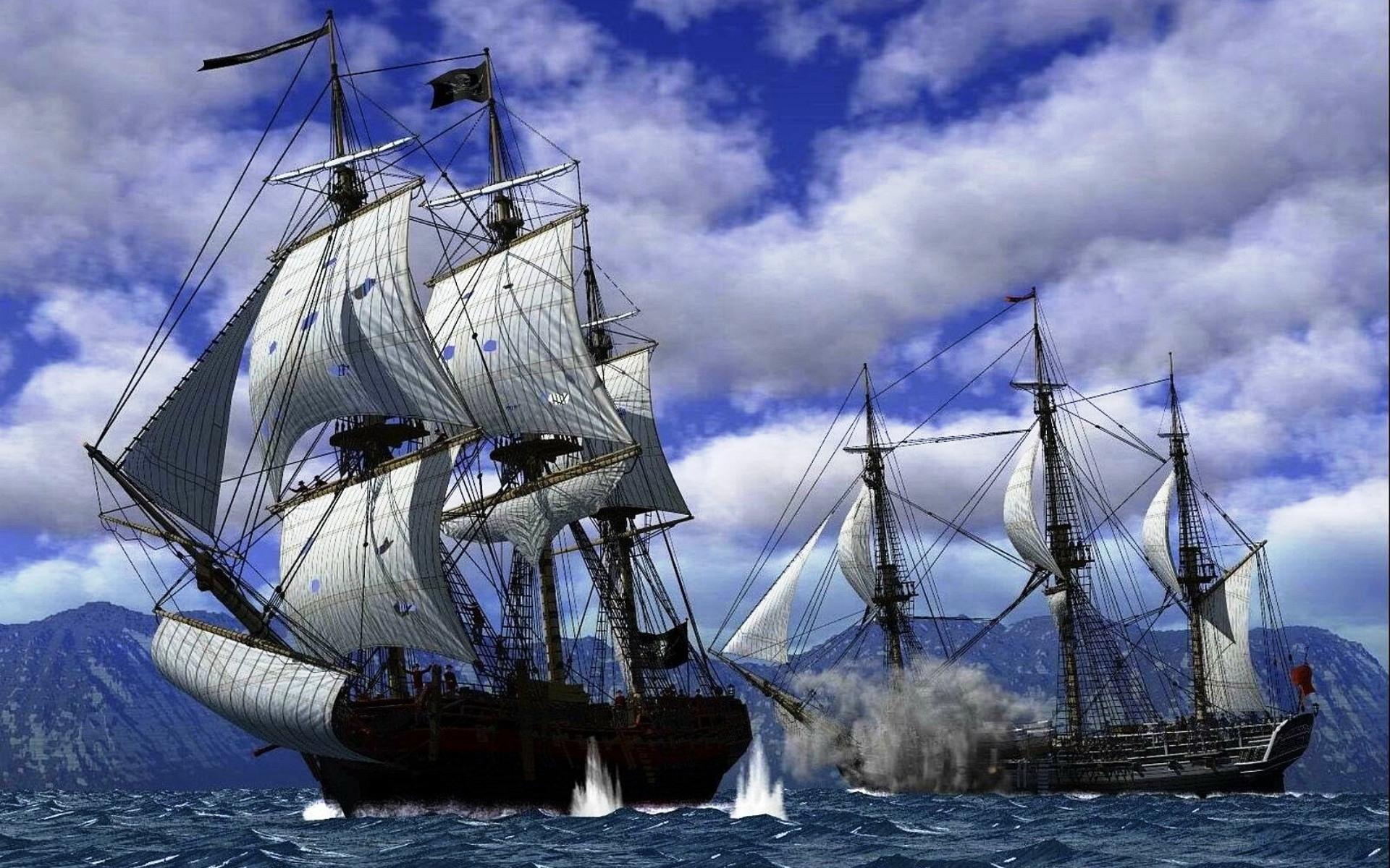 пиратский корабль картинки фото
