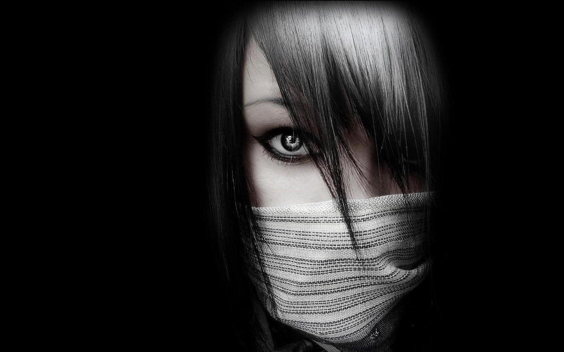 Для того чтобы скачать картинку 13945 - эмо, глаза, девочка, черный
