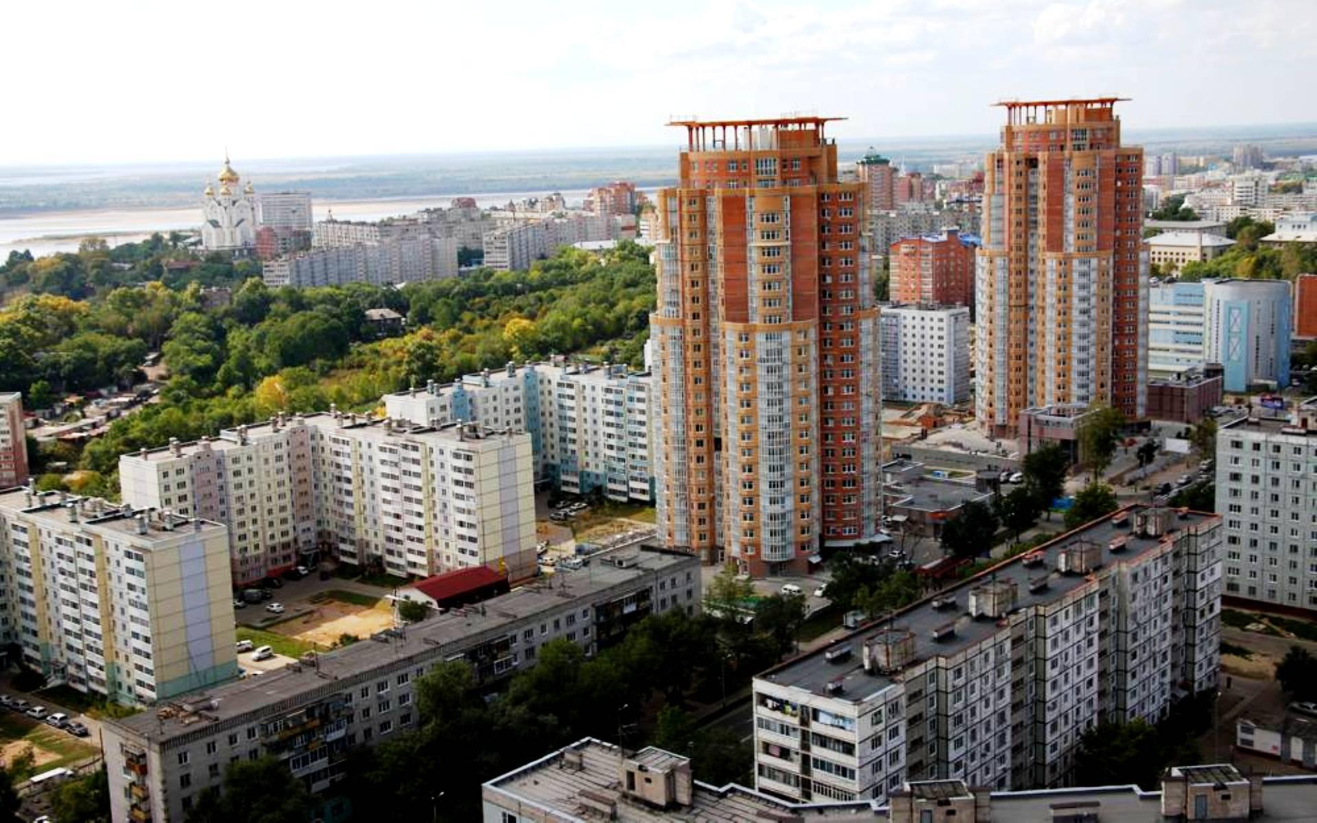 Фото дома в хабаровске