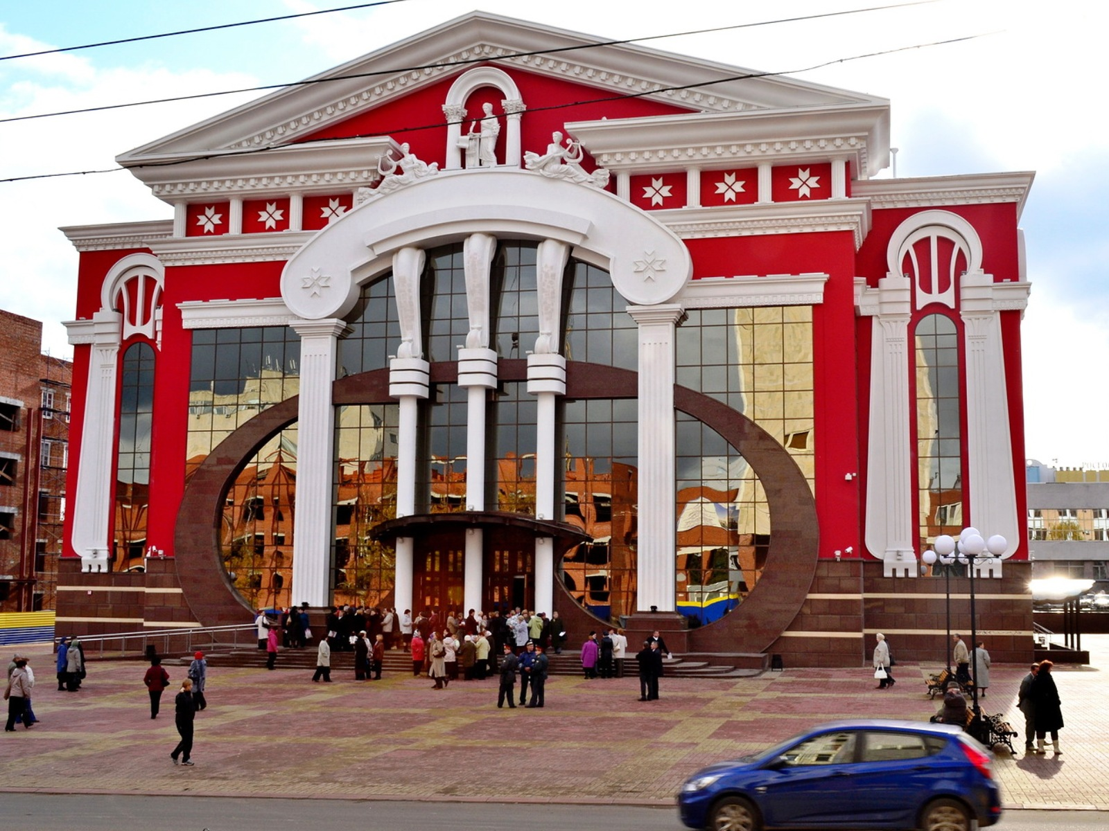 Resultado de imagen para саранск театр