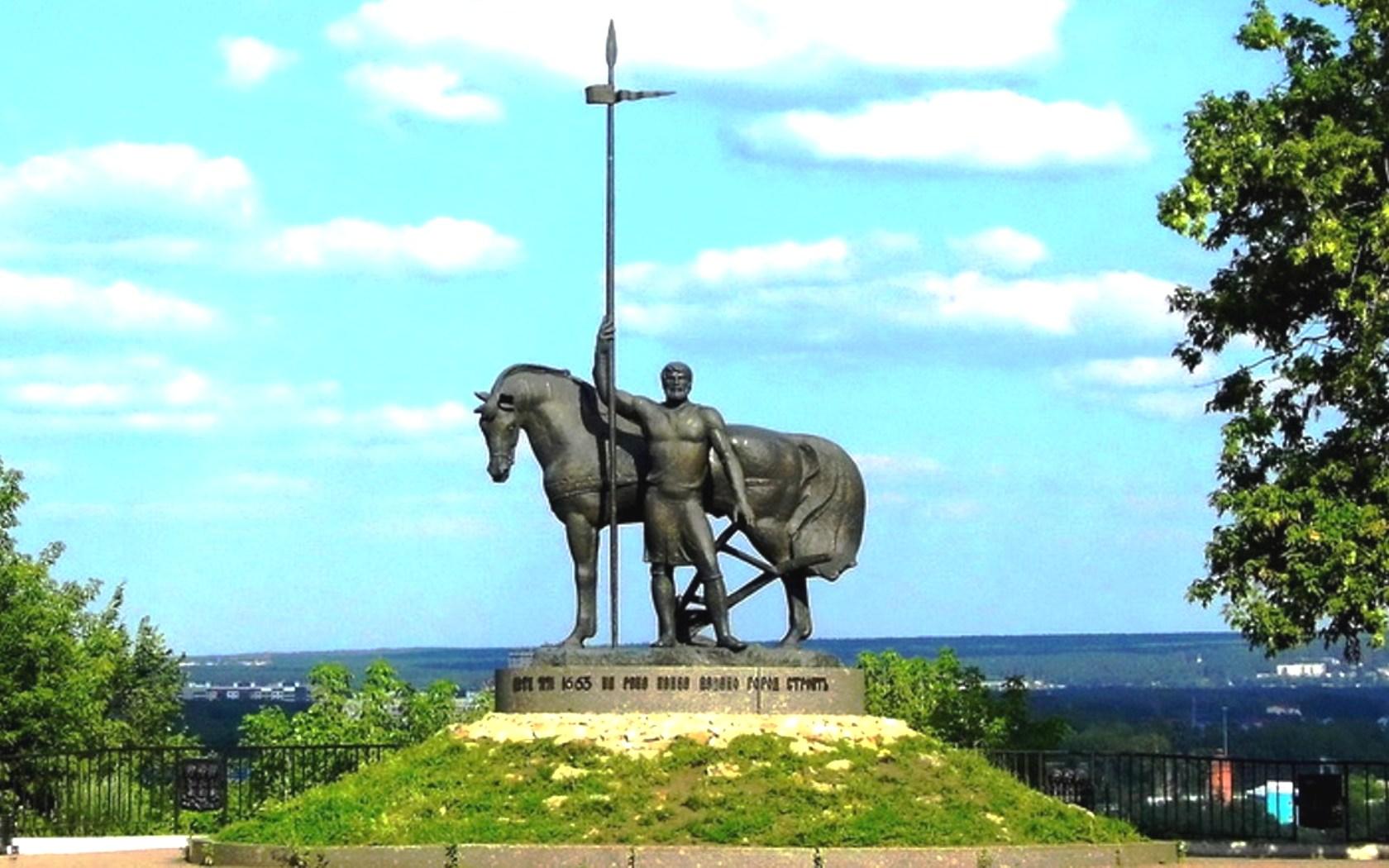 Памятник первопоселенцу пенза фото памятники в тюмени цены двойные