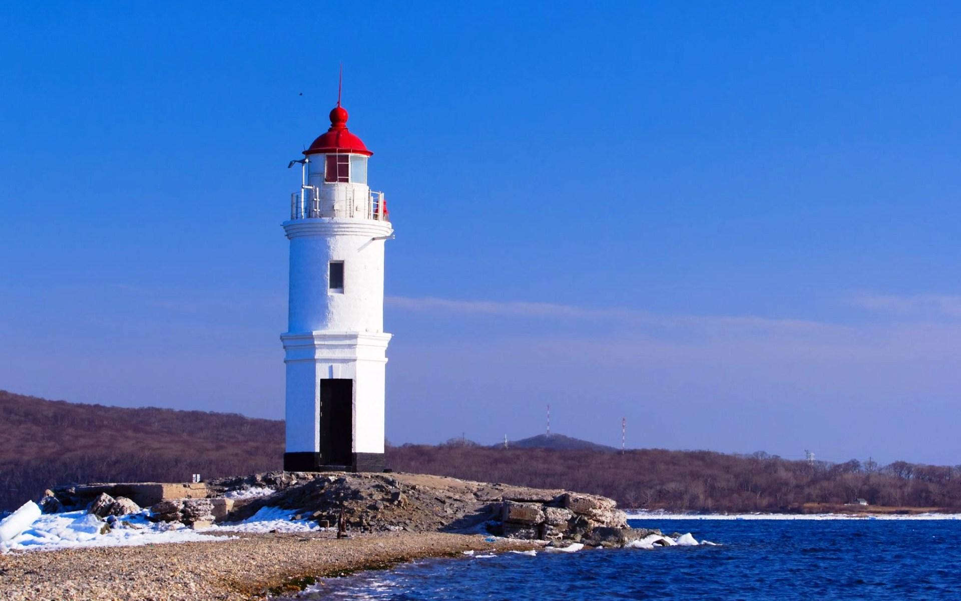 фото маяк владивосток