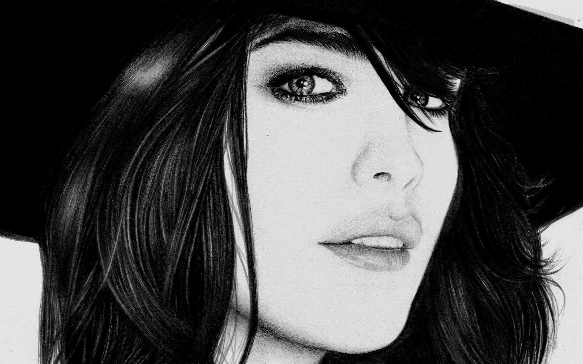 Чёрно белое фото женщин 1 фотография