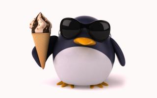 Пингвин 3D