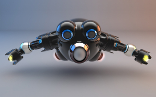 3d летающий робот