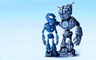 3d роботы