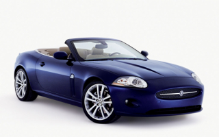 Jaguar XK convertible 2007 / Ягуар XK кабриолет 2007г