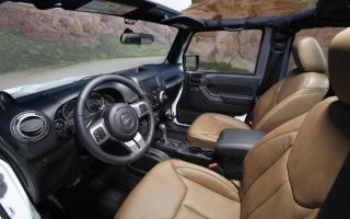 Jeep Wrangler Moab cabin / Джип Вранглер Моаб кабина