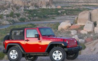Jeep Wrangler side view / Джип Вранглер вид сбоку