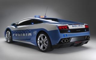Lamborghini Gallardo police / Ламборджини Галлардо полицеййский