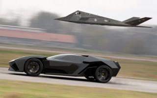 Lamborghini and the plane / Ламборджини и самолет