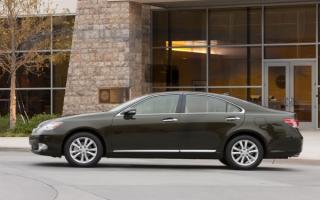 Lexus ES 350   Лексус ES 350 вид сбоку