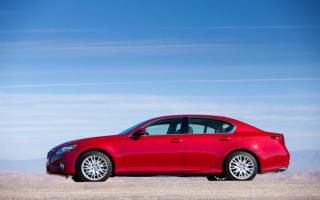 Lexus GS 350   Лексус GS 350 красный