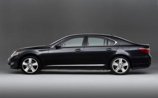 Lexus LS 460   Лексус LS 460 черный