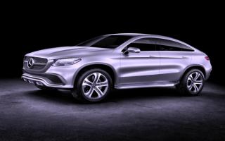 Mercedes-Benz Concept Coupe SUV / Мерседес-Бенц концепт купе внедорожник