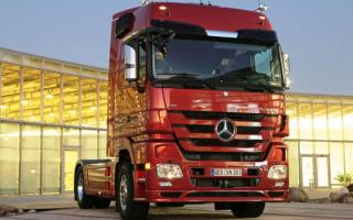 Truck Mercedes-Benz / Грузовик Мерседес Бенц