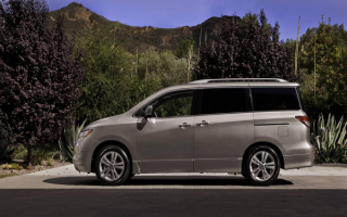 2013-Nissan-Quest-Minivan / Ниссан Квест минивен 2013г.