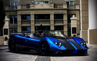 Pagani Zonda Roadster / Пагани Зонда родстер