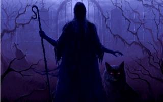 Демон и волк