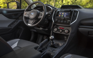 2019 Subaru Crosstrek interior