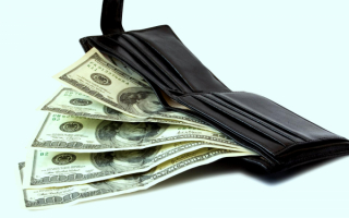 Баксы в бумажнике