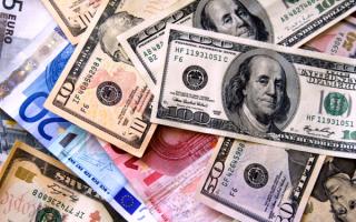 Евро и баксы
