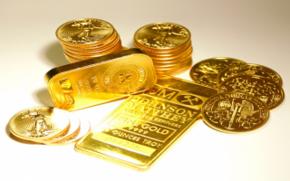Деньги в золоте