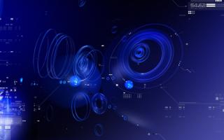 Голубое звучание