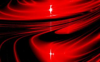Красная абстракция
